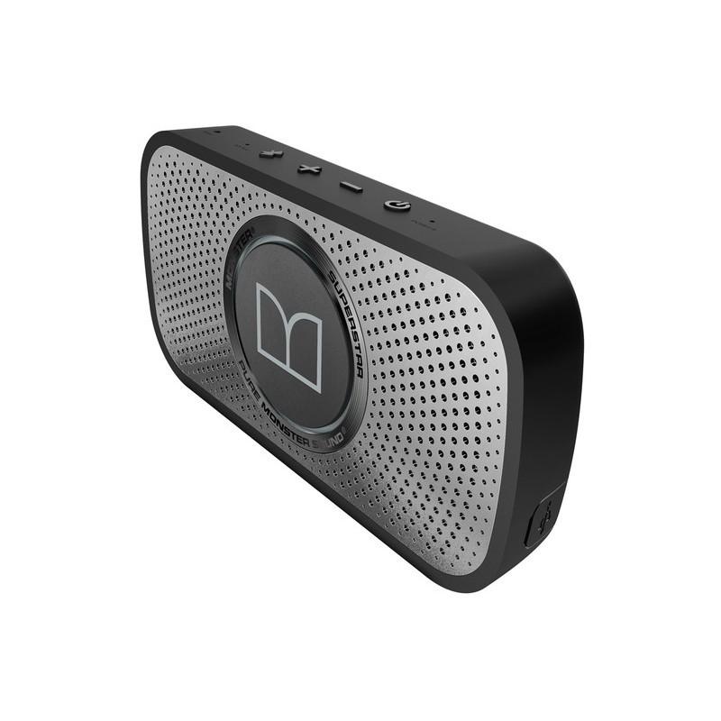 Monster Superstar HD Bluetooth speaker grijs