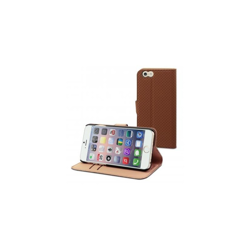 Muvit Wallet Case iPhone 6(S) bruin