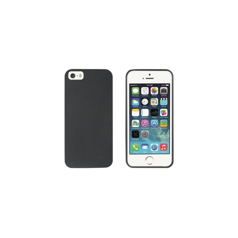 Muvit ThinGel Case iPhone 5(S)/SE zwart