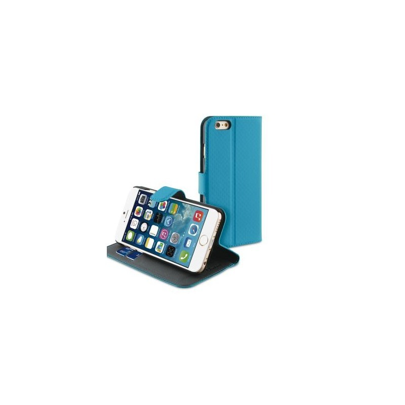 Muvit Wallet Case iPhone 6(S) turquoise