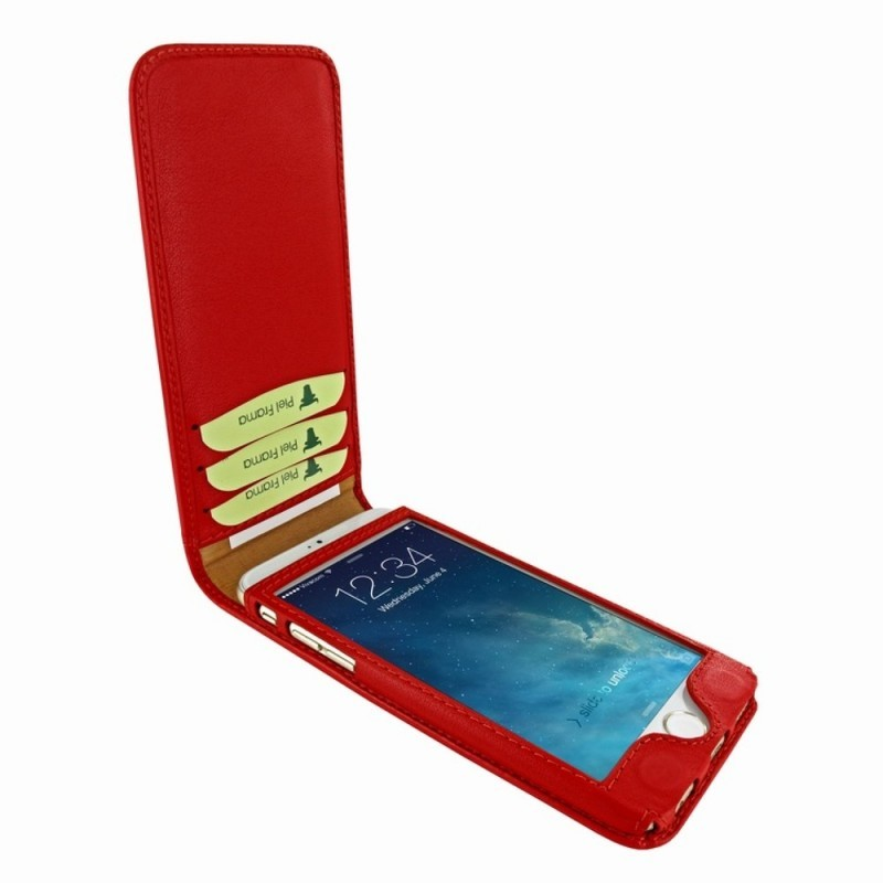 Piel Frama Magnetic iPhone 6(S) rood