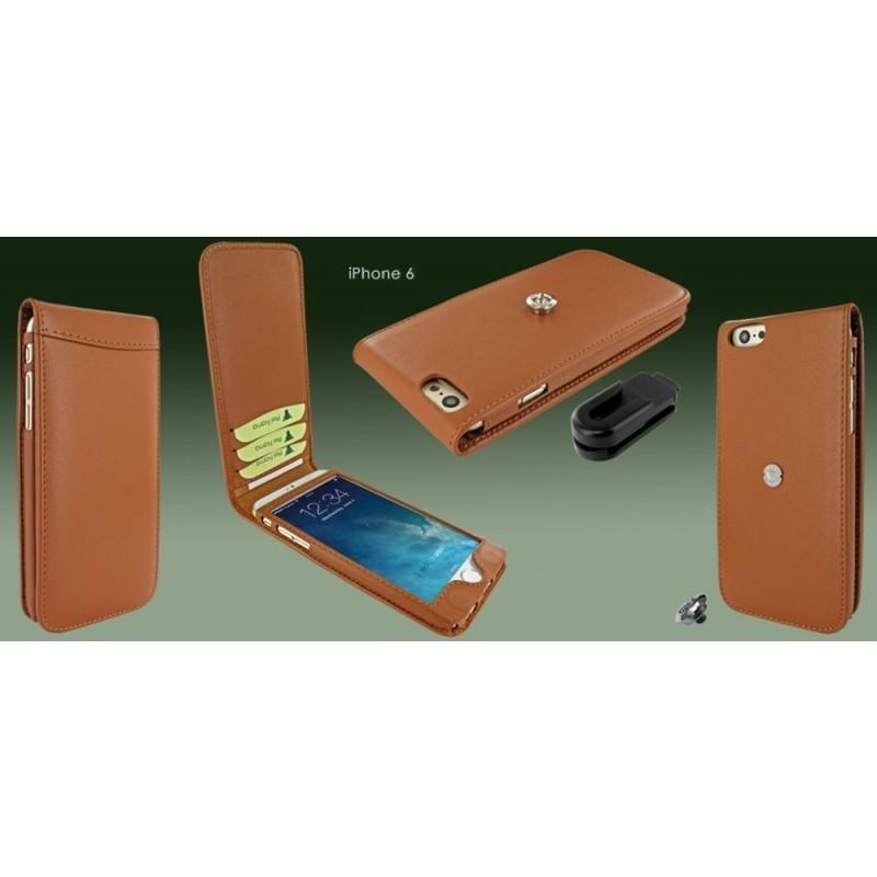 Piel Frama Magnetic iPhone 6(S) Tan