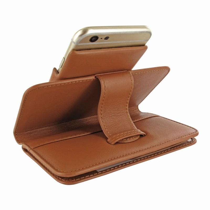 Piel Frama Wallet iPhone 6(S) tan
