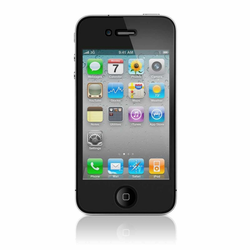 Screenprotector helder iPhone 4(S) (voor)