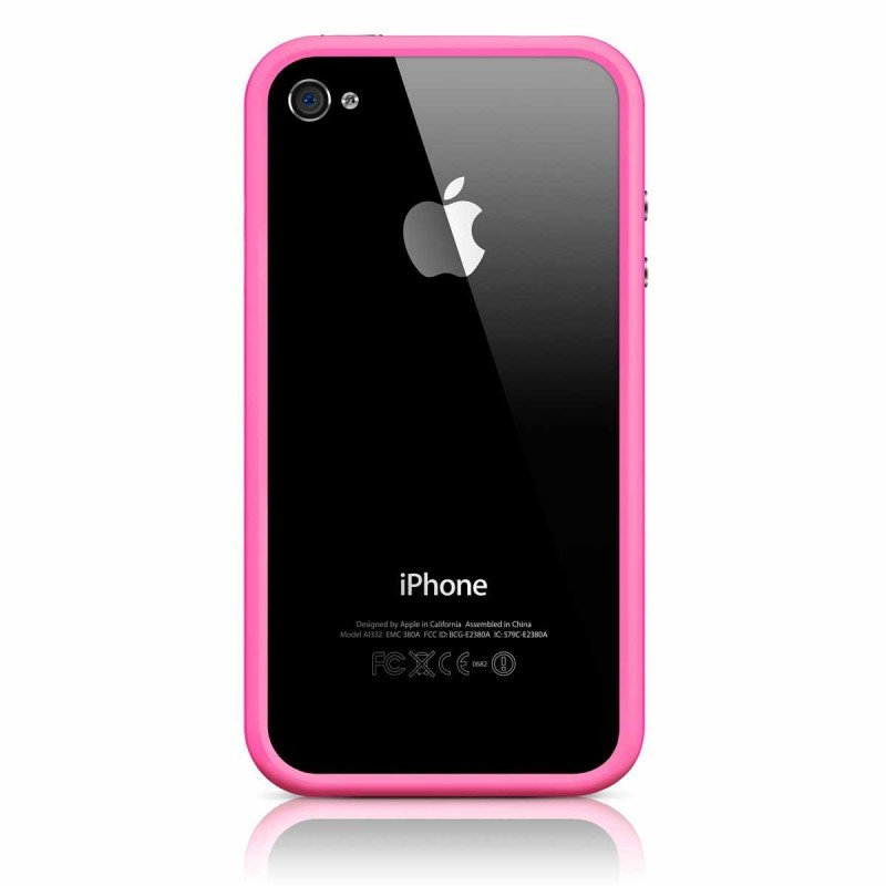 iPhone 4(S) Bumper roze