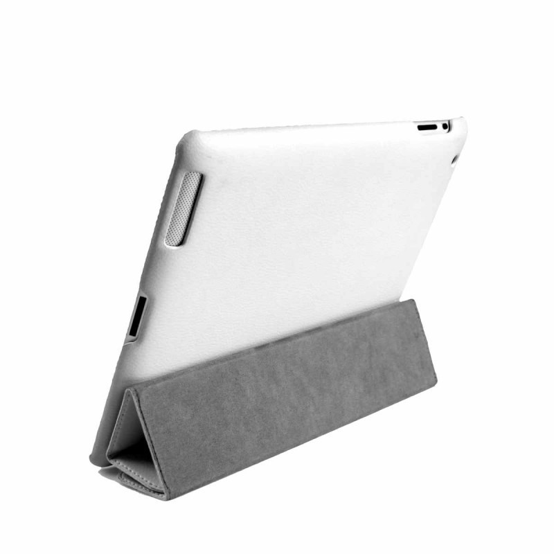 SB CoverCase leer wit iPad 2