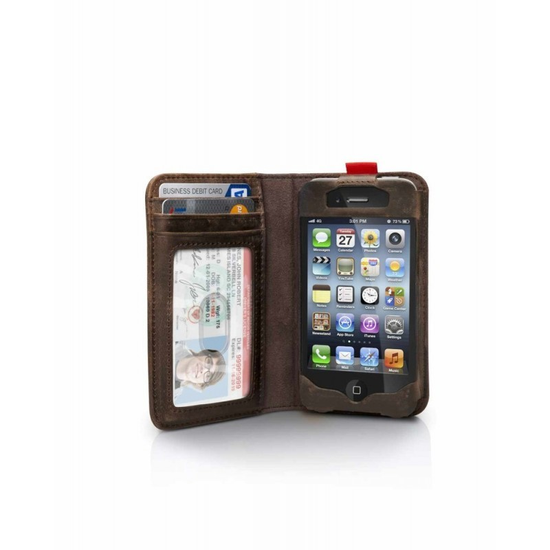 Twelve South BookBook bruin iPhone 4(S)