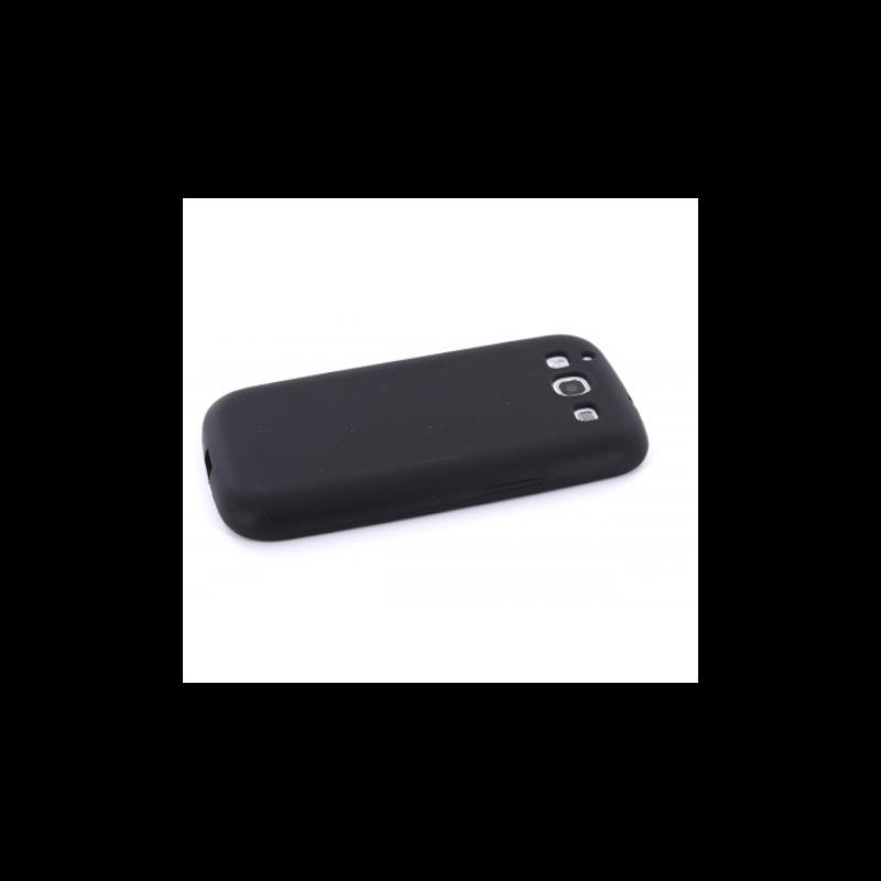 Mobiparts Siliconen Case Galaxy S3 zwart