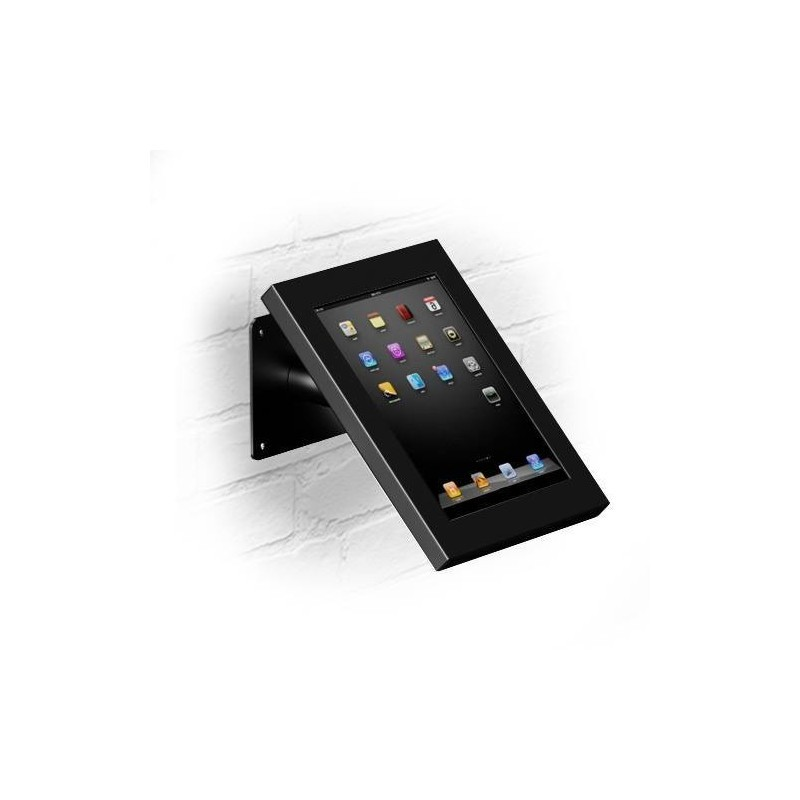 Tablet muur- en tafelstandaard Securo iPad Mini en Galaxy Tab zwart