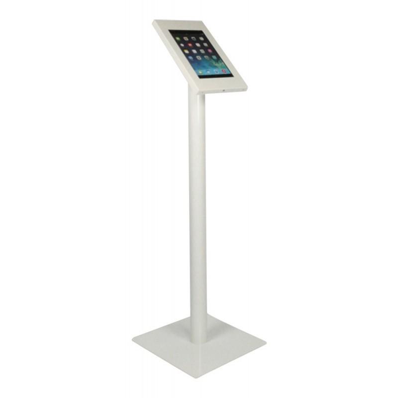 Ergo Tablet vloerstandaard Securo iPad Mini en Galaxy Tab 3 wit