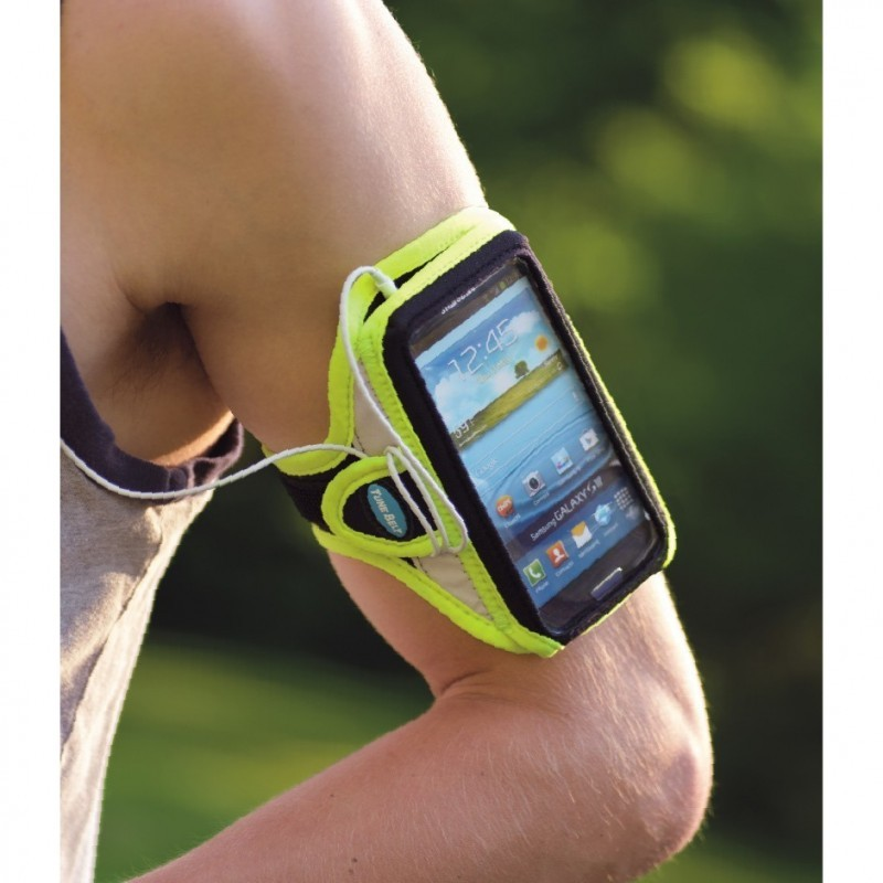 Tune Belt Sport armband AB86RY iPhone 6(S)/7 geel