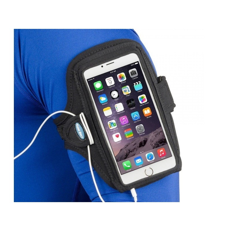Tune Belt Sport armband Galaxy Note 5 zwart