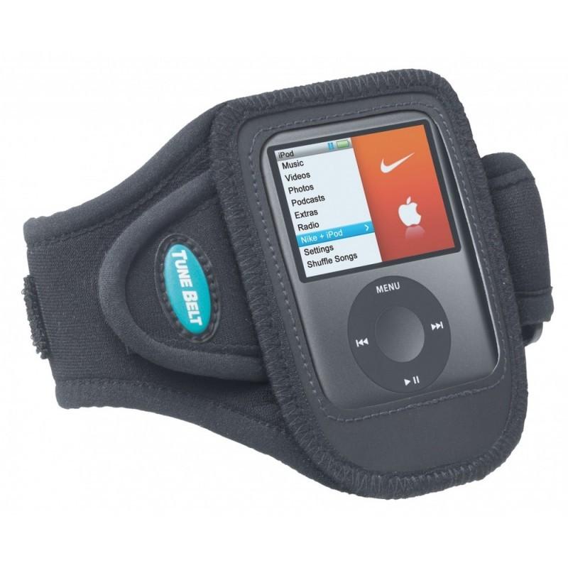 Tune Belt Sport armband AB73+ iPod nano 3G en Nike Plus Sport zwart