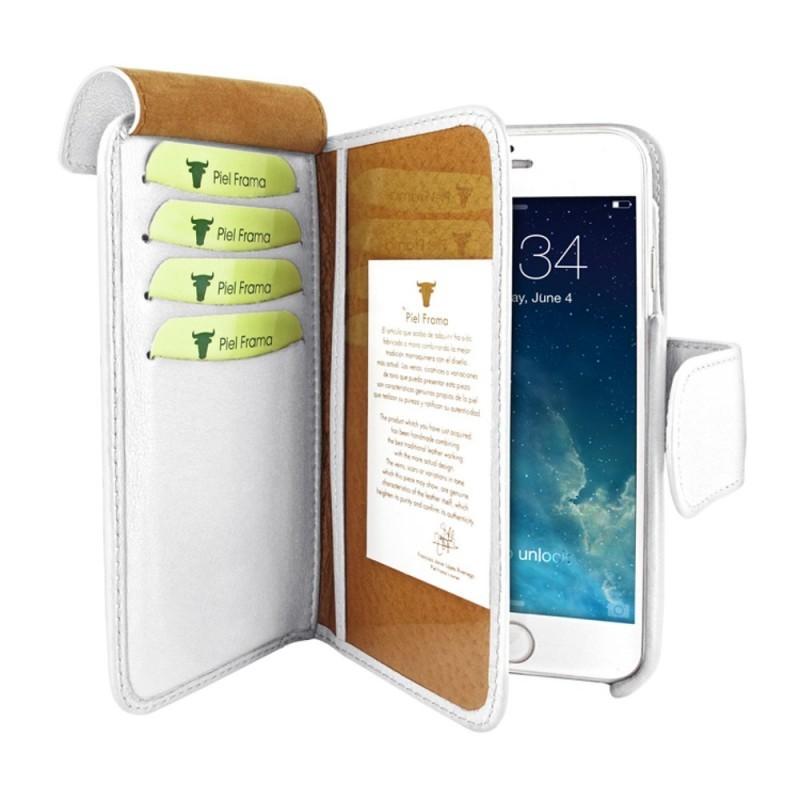 Piel Frama Wallet iPhone 6(S) Plus wit