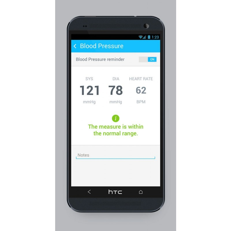 Withings draadloze bloeddrukmeter (wireless Blood Pressure Monitor) BP-801