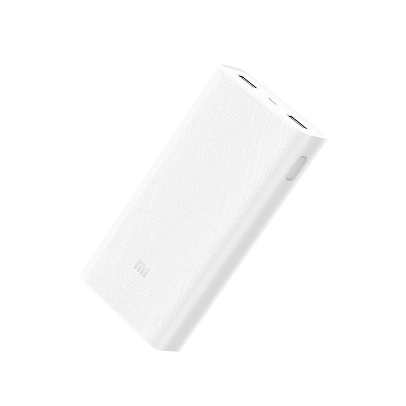 Xiaomi 20000mAh Quick Charge 3.0 Powerbank 2 - Dual USB - Wit