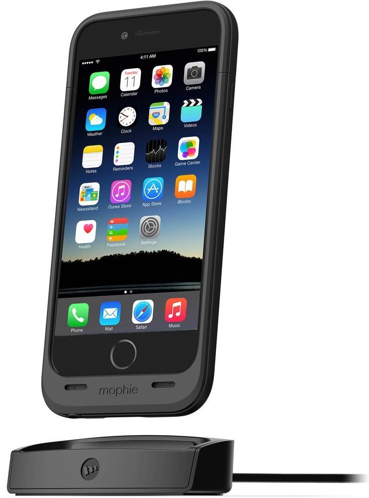 Mophie juice pack dock iPhone 6(S) zwart