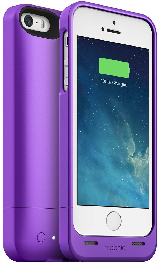 Mophie juice pack helium iPhone 5(S)/SE 1500 mAh paars
