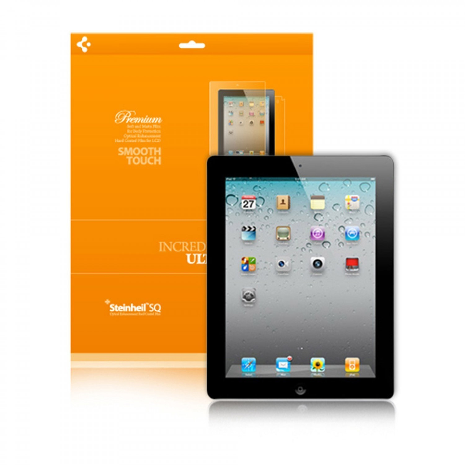 Spigen Incredible Shield iPad 2 Full Body Protector Ultra Matte