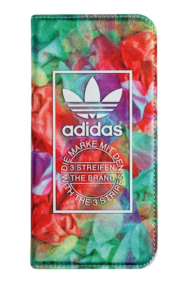 Adidas Female Silk Booklet iPhone 6 / 6S Floral Fantasy
