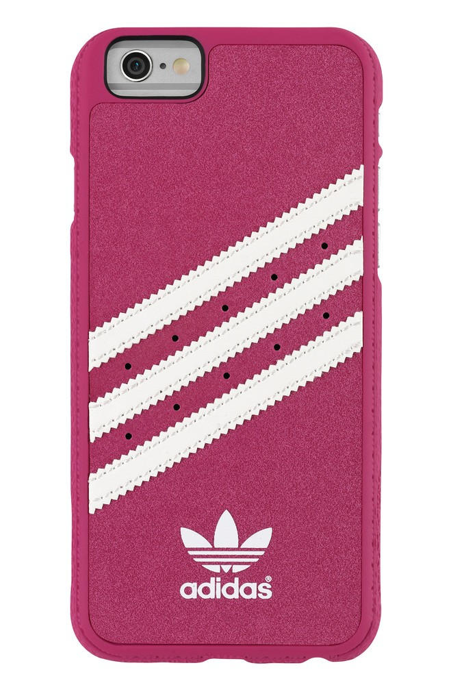 Adidas Vintage Moulded Case iPhone 6 / 6S Pink / White
