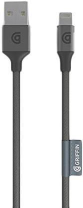 Griffin Lightning Cable Premium 1.5 m Grey