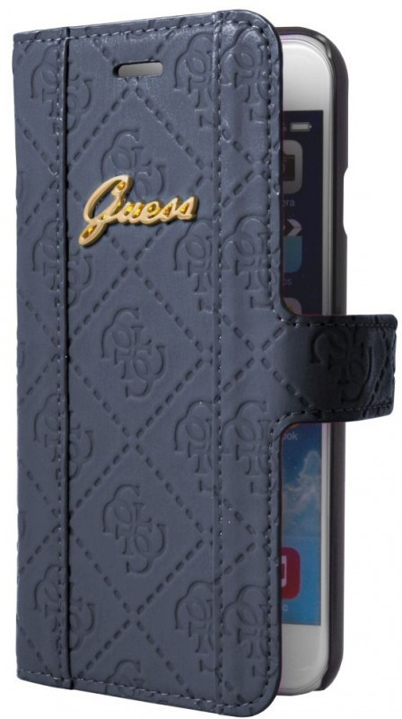 Guess Scarlett Folio Case iPhone 6(S)  BlueBerry