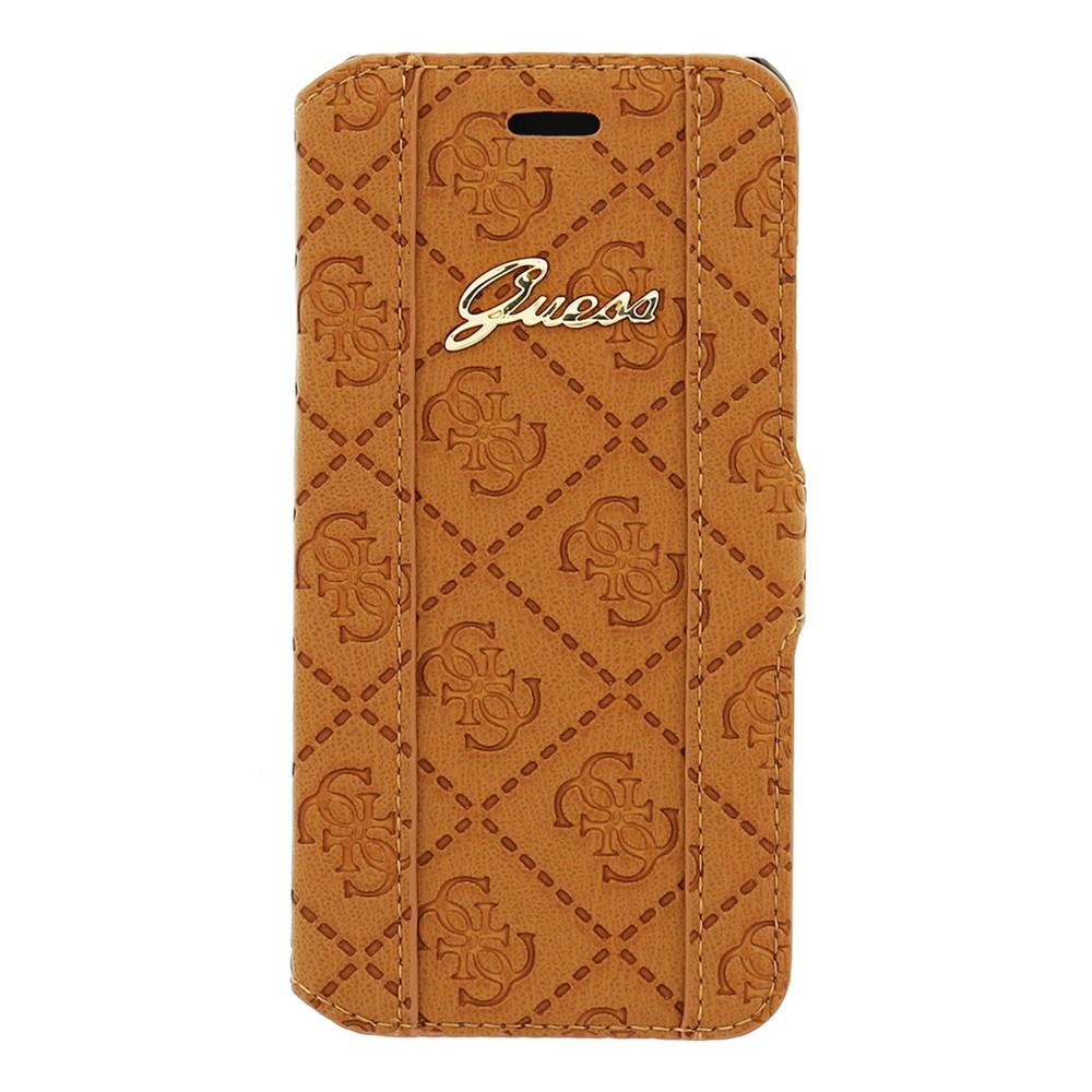 Guess Scarlett iPhone 6 / 6S Folio Case Cognac