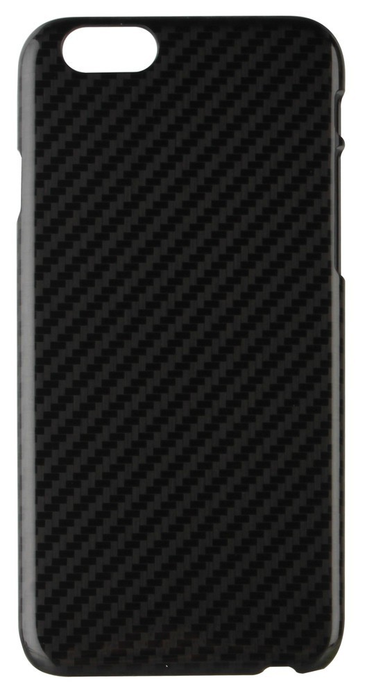 Xqisit iPlate Carbon iPhone 6 Plus / 6S Plus Black