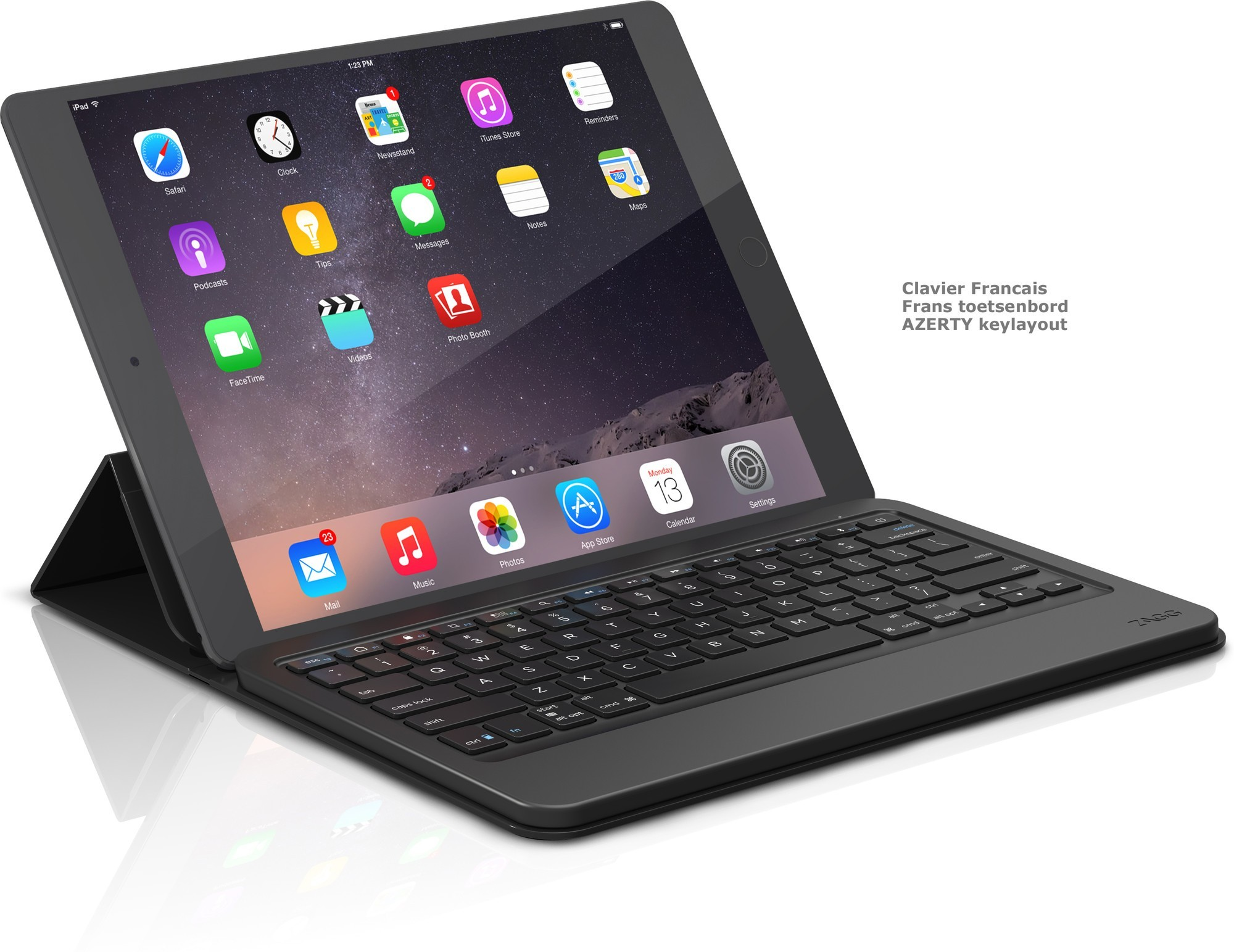 ZAGG Messenger iPad Pro AZERTY