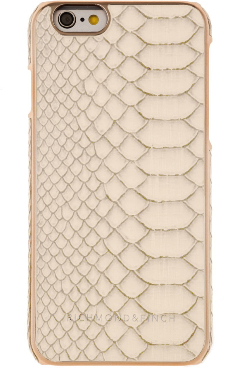 Richmond and Finch Framed Rose iPhone 6(S) Reptile White
