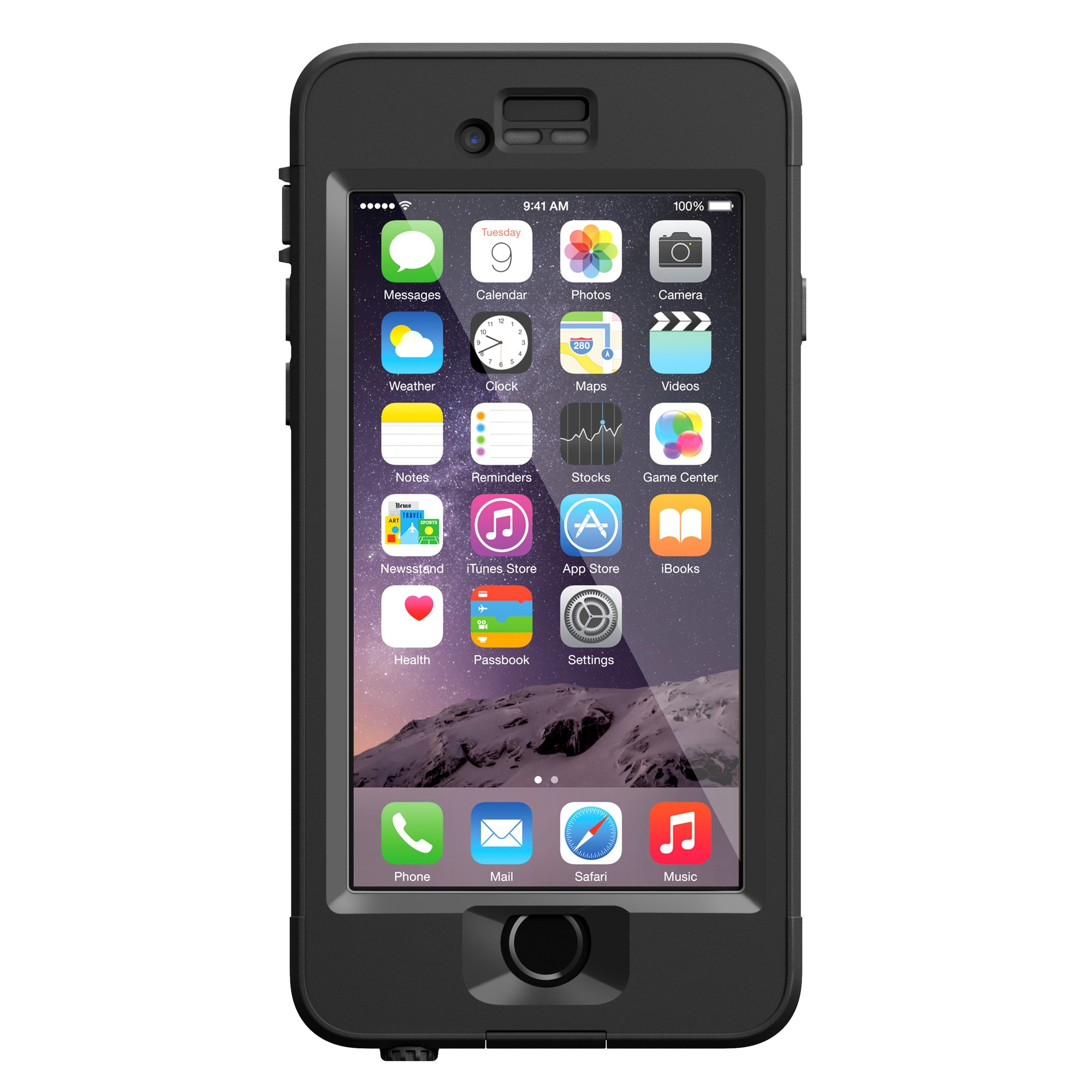 Lifeproof Nüüd Waterproof Case iPhone 6 zwart