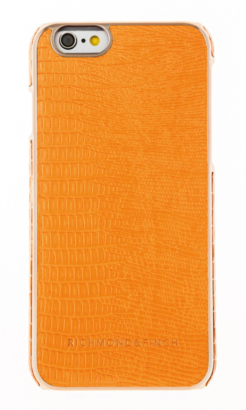 Richmond and Finch Framed Rose iPhone 6(S) Reptile Orange