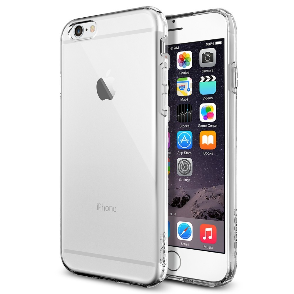 Spigen Capsule iPhone 6(S) Crystal Clear