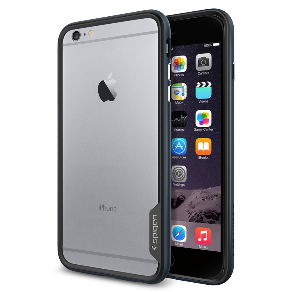 Spigen Neo Hybrid EX iPhone 6(S) Plus Metal Slate