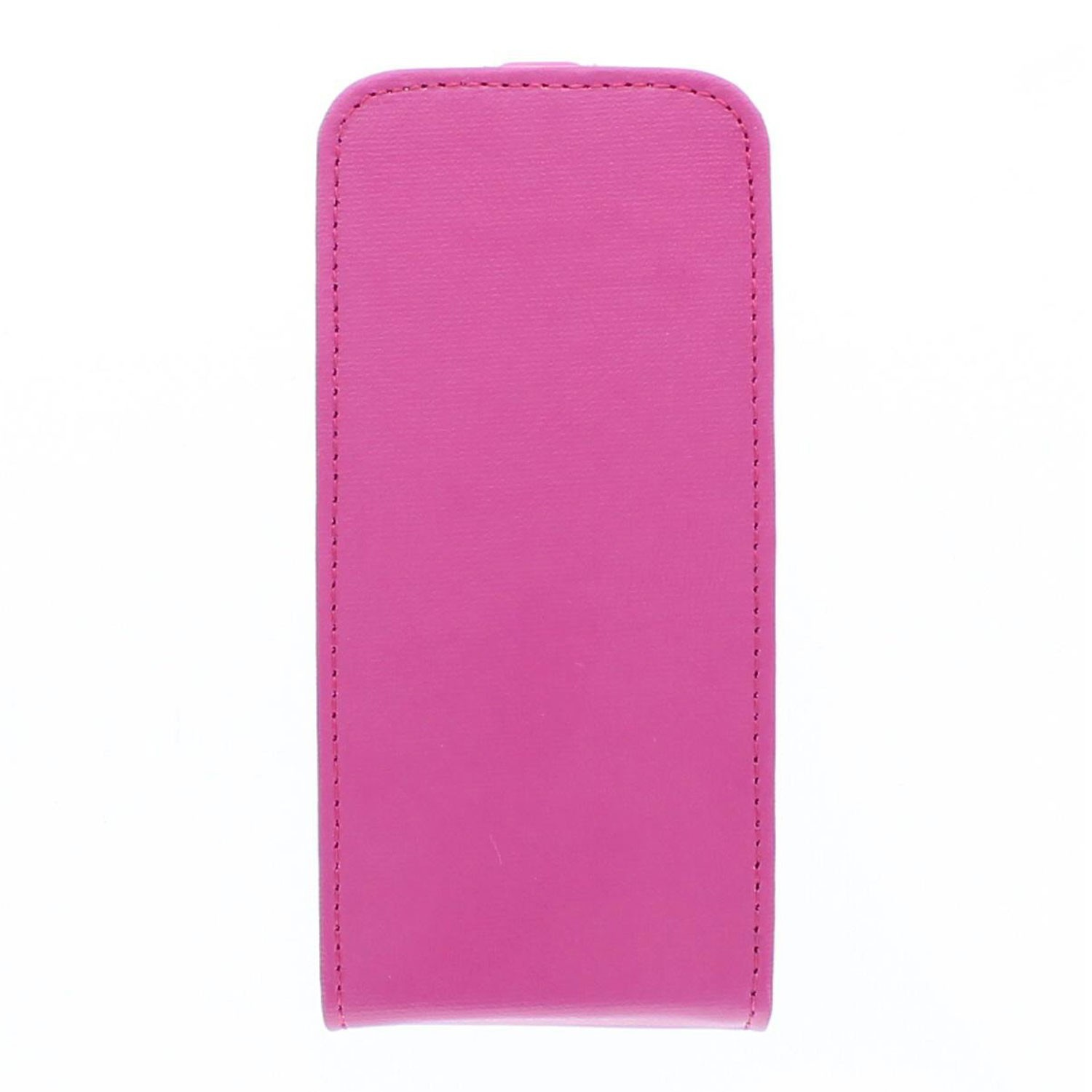 Eco iPhone 5 / 5S Flip Case Fuchsia