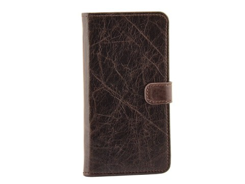 Milano CC iPhone 6 Plus / 6S Plus Book Case Brown
