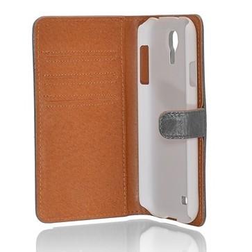 Milano CC iPhone 6 Plus / 6S Plus Book Case Gray