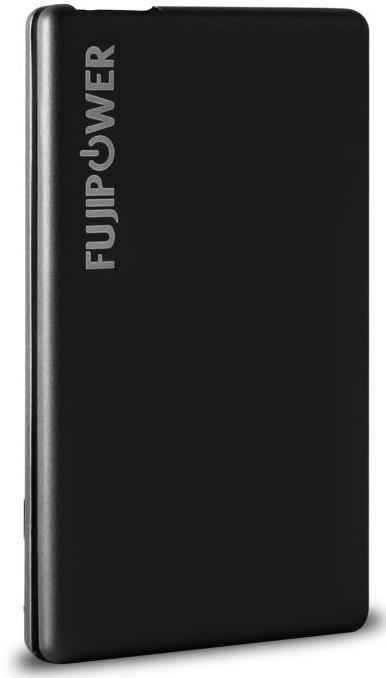 Fujipower Ultra-Slim Powerbank 2300 mAh 1A Black