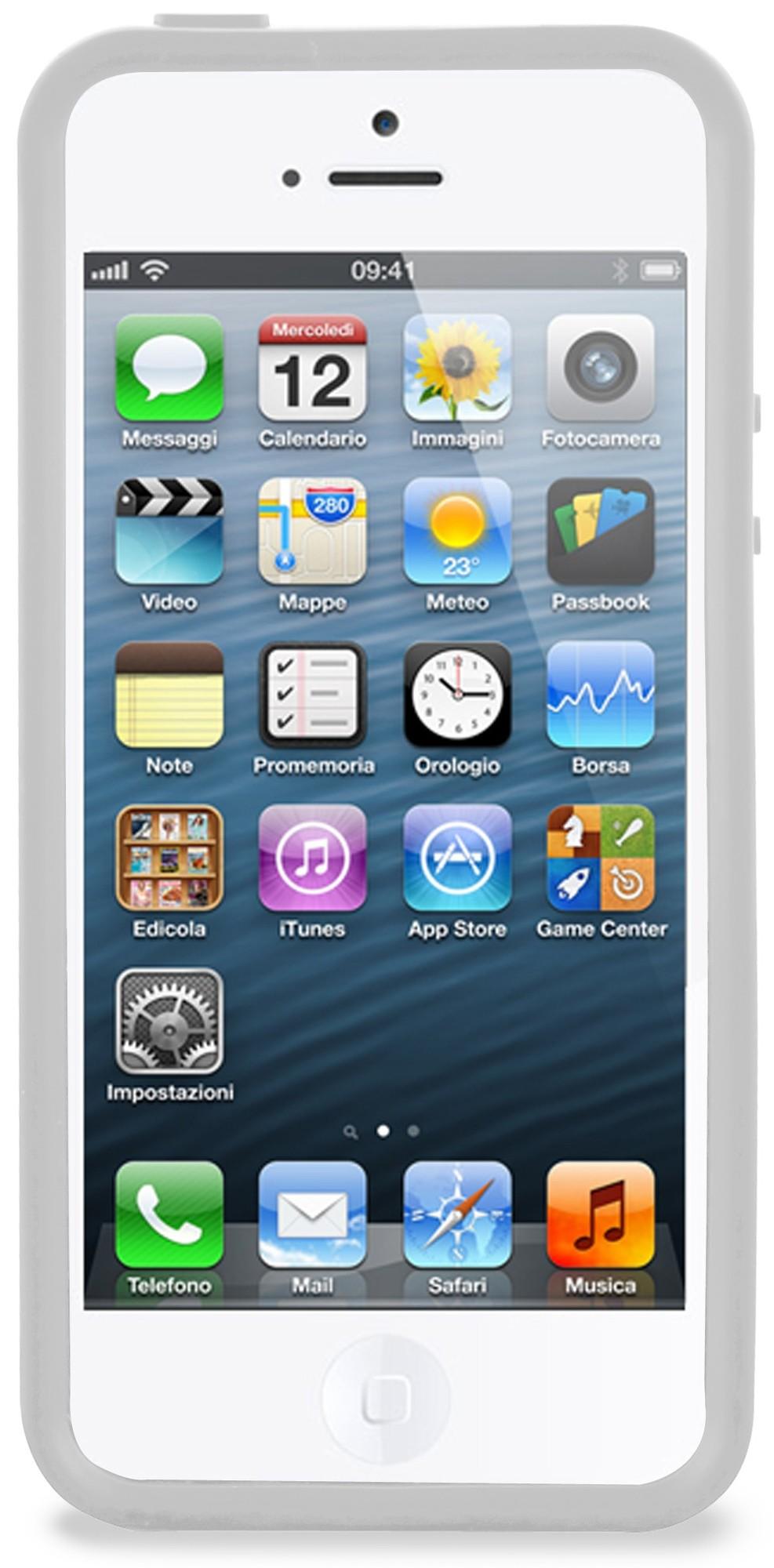 Bumper iPhone 5 / 5S Clear Grey