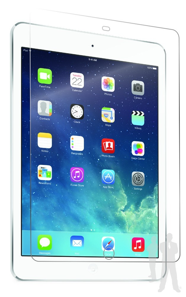 Bodyguardz UltraTough iPad Air 1 / 2 Screenprotector Clear
