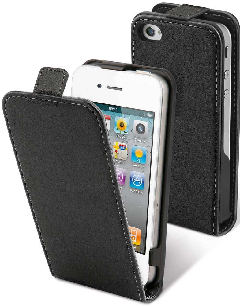 Muvit Slim Case iPhone 4(S) zwart