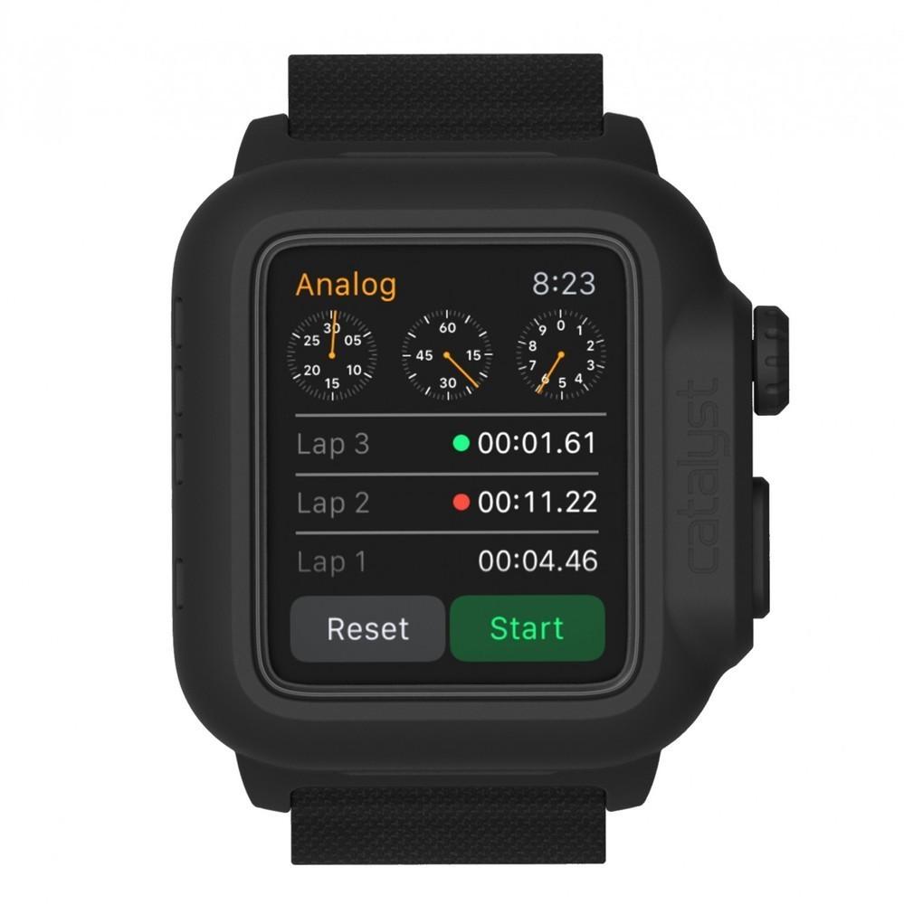 Catalyst waterproof Apple Watch 42mm case zwart