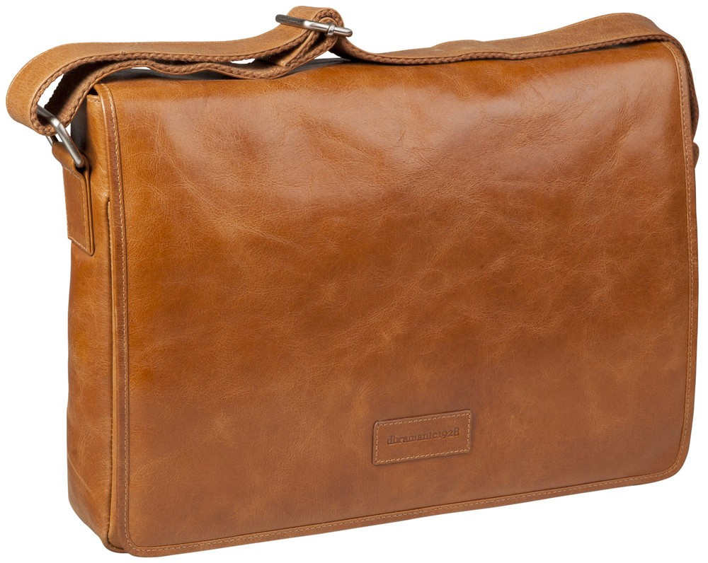 dbramante1928 Marselisborg 14 inch Messenger Bag Golden tan