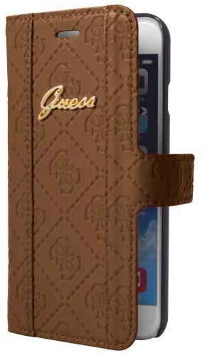 Guess Scarlett Galaxy S5 Folio Case Cognac