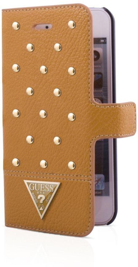 Guess Tessi iPhone 5(S)/SE Booklet case Cognac