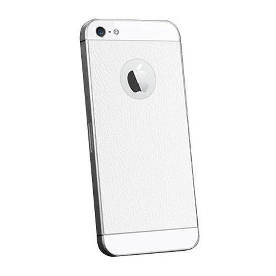 Spigen Skin Guard Leather iPhone 5(S) wit