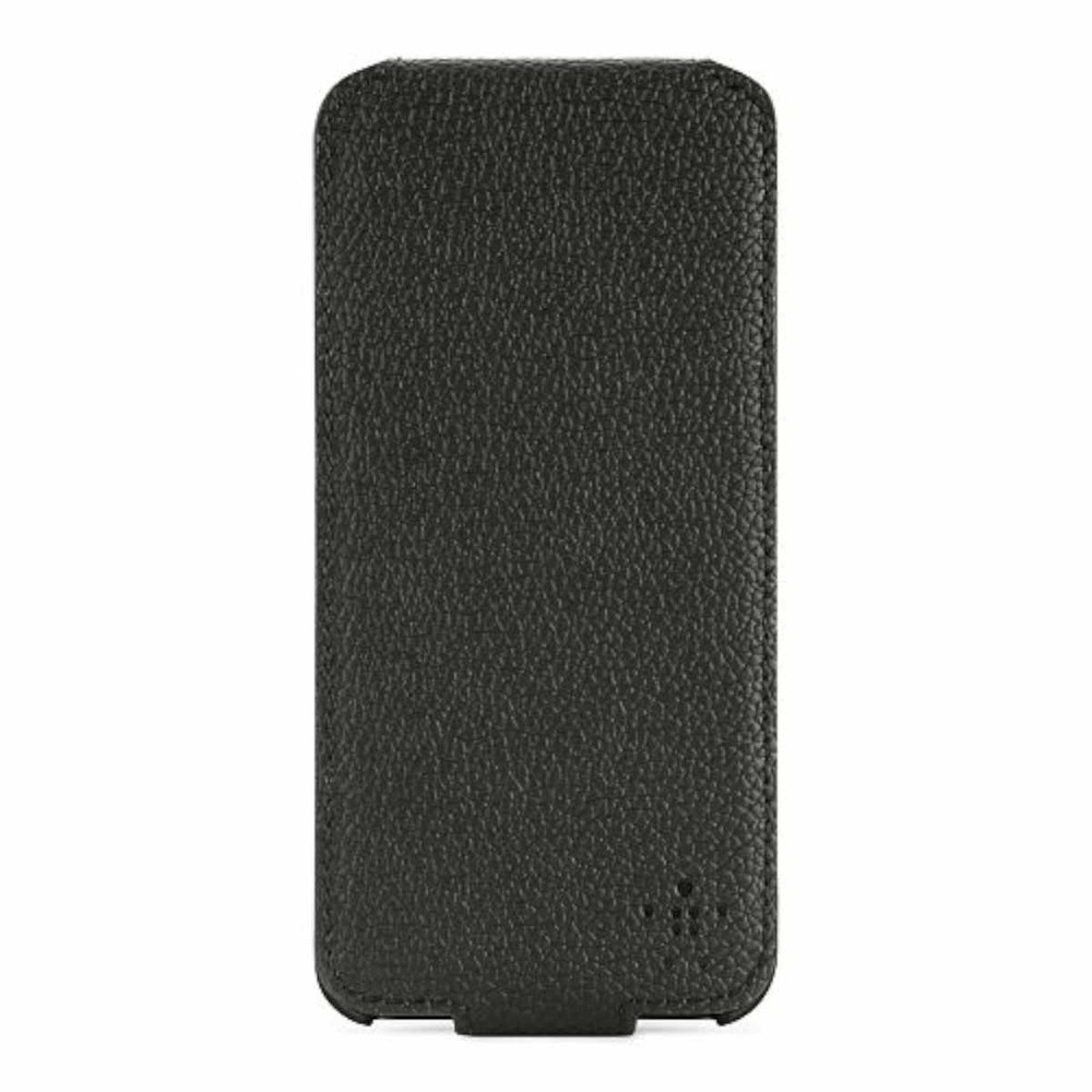 Belkin Grip Vue flip case iPhone 5(S)/SE zwart