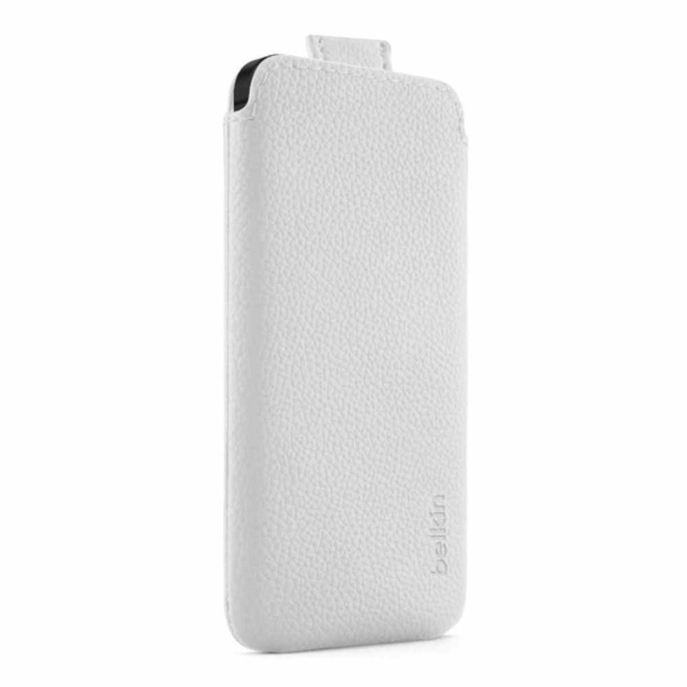 Belkin leren Pull case iPhone 5(S)/SE wit