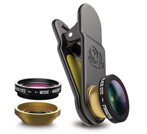 Black Eye 3 in 1 Fish Eye Lens